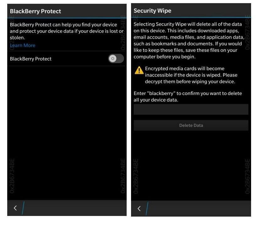 localizar celular por blackberry protect
